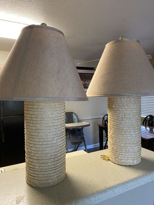 2 Lamps for Sale in Fresno, CA