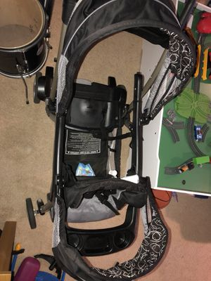 Graco onyx ready2grow double stroller for Sale in Alexandria, VA
