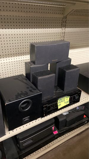 Pioneer Home Theater Theatre Receiver Speakers and Subwoofer for Sale in Phoenix, AZ