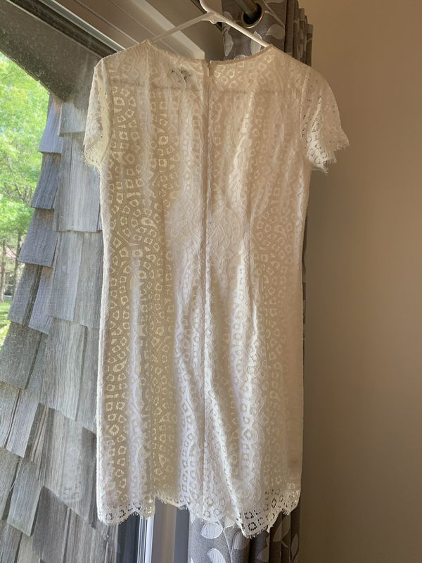 Ann Taylor crochet dress with short sleeves. Size 4 petite