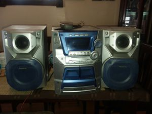 Panasonic stereo system for Sale in Queens, NY
