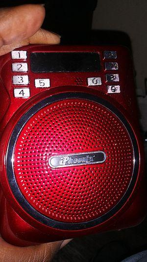 Iphoenix Bluetooth radio speakers for Sale in Oakland, CA
