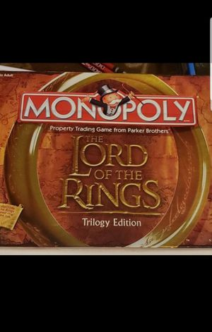 Monopoly lord of the rings edition for Sale in Federal Way, WA