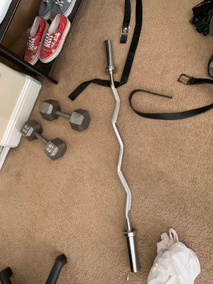 Curl bar for Sale in Loma Linda, CA