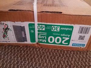 200amps box 125 amps box for Sale in Buena Vista, VA