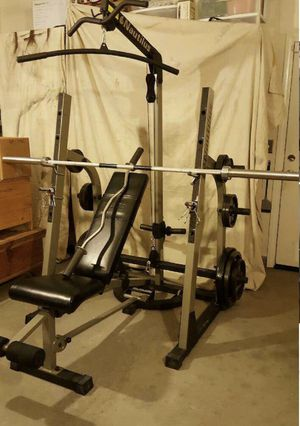 Nautilus Olympic weight set, for Sale in Kent, WA