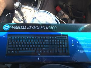 Hp wireless keyboard (mouse not included) for Sale in Oroville, CA