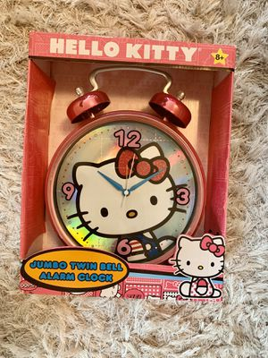 Hello Kitty Jumbo Twin Bell Alarm Clock for Sale in Brooklyn, NY