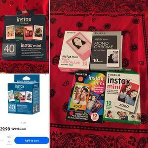 Fuji Instax Mini Film- Variety Pack for Sale in Wichita, KS