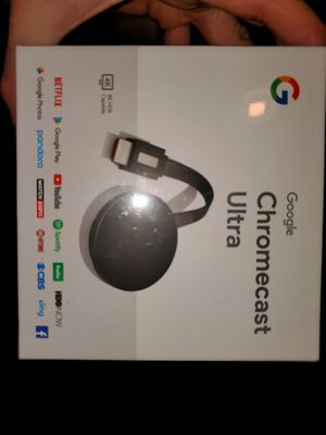 Chromecast Ultra Brand New, Neverused for only $40 for Sale in Shoreline, WA