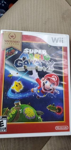 Super mario galaxy for wii for Sale in Denver, CO
