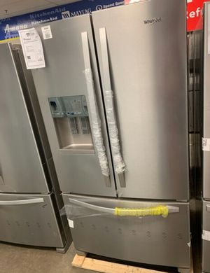 New Whirlpool Stainless French Door Refrigerator!1 Year Manufacturer Warranty Included! for Sale in Chandler, AZ