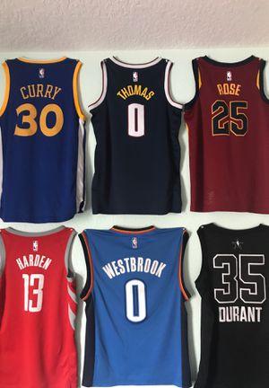 nba jerseys (sizes small and medium) for Sale in Alafaya, FL