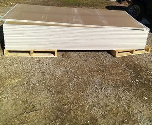 """30 pieces of sheetrock, """"Tuff Rock"""" (Actual: 0.05-in x 3.99 x 11.99-ft) Drywall Panel for Sale in Ramona, OK"""