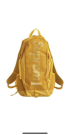 Supreme backpack SS20 Gold for Sale in Coral Gables, FL