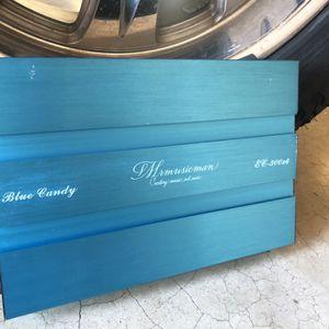 Mrmusicman Blue Candy 4 Channel Amplifier for Sale in Tempe, AZ
