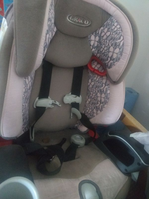 Graco booster seat with steel rods