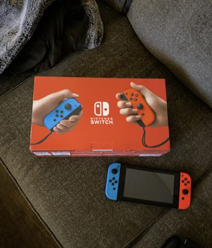 Like new Nintendo switch with 6 games for Sale in Simi Valley, CA