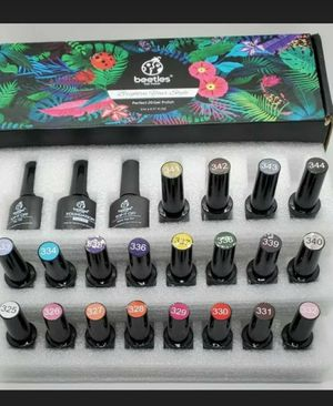 Uv gel nail polishes for Sale in Grand Prairie, TX