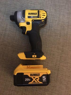 Dewalt 20v Compact Drill & 5AH XR Battery for Sale in Myrtle Beach, SC