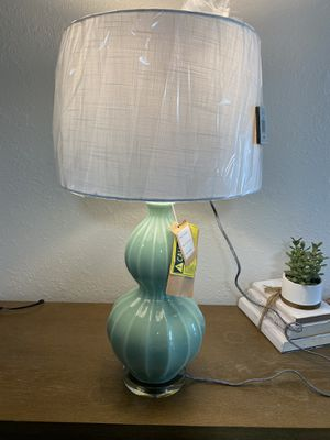 "Brand New Teal Colored Designer Lamp 27"" for Sale in St. Petersburg, FL"