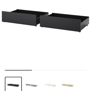 Ikea Malm Underbed Storage Drawers for Sale in St. Cloud, FL