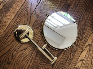 Makeup wall Mirror Brass for Sale in Los Angeles, CA