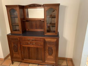 Antique hutch for Sale in Peoria, AZ