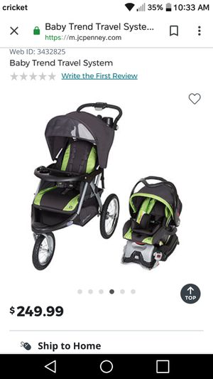 Baby car seat and stroller system for Sale in Gulfport, MS