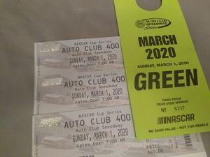 NASCAR TICKETS for Sale in San Bernardino, CA
