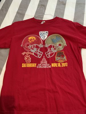 Used, USC vs. UCLA T-shirt L for Sale for sale  Wildomar, CA
