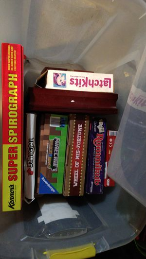 **Board & craft games variety **** for Sale in Stockton, CA