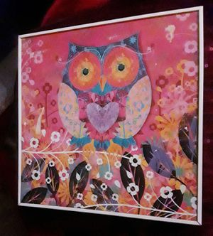 OWL Wall FRAME Decor. for Sale in Downey, CA