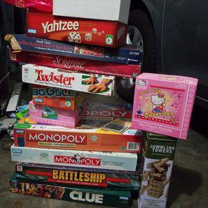 BOARDGAMES BUNDLE for Sale in Los Angeles, CA