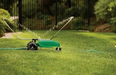 Traveling Sprinkler Raintrain Garden Tractor Sprinkle for Sale in Charlottesville,  VA
