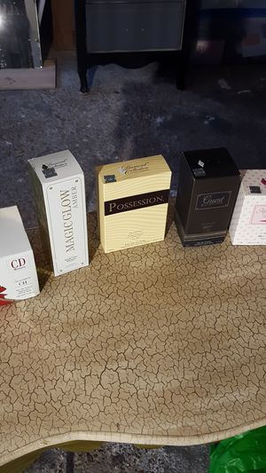Three perfumes and two colognes. Not original for Sale in Houston, TX