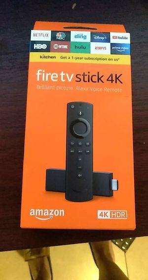 Amazon firestick 4k for Sale in Ridge Manor, FL