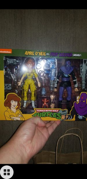 Neca tmnt april o'neil foot soldier for Sale in South Gate, CA