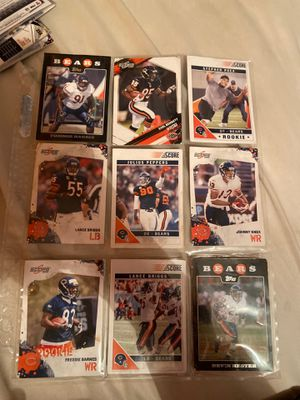 Chicago Bears cards for Sale in Bargersville, IN