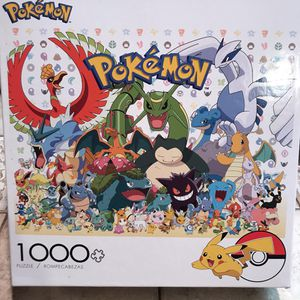 NEW!!! 1000 Piece Puzzle POKÉMON RAYQUAZA for Sale in Torrance, CA
