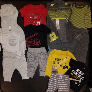 3 months baby outfit lot for Sale in Waddell, AZ