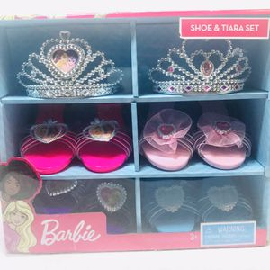 Barbie Shoe and Tiara Dress Up Set for Sale in Pawtucket, RI