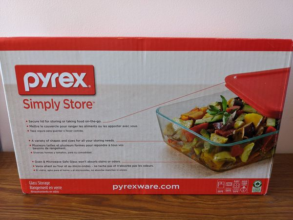 [Brand New] Pyrex Simply Store Meal Prep Glass Food Storage Containers 18pc