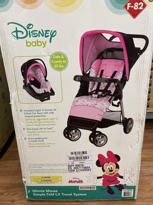 Disney Stroller Car Seat Combo for Sale in Round Rock, TX