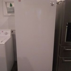 Brand New Frigidaire Upright Freezer With Lite Dent And Scratch for Sale in Hanover, MD