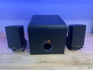 Klipsch ProMedia 2.1 Computer Speaker System for Sale in Sacramento, CA