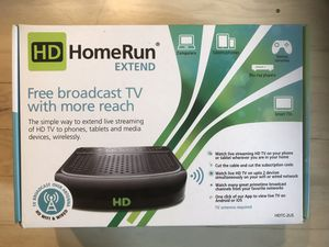 The HDHomeRun EXTEND delivers DLNA video streams derived from its two TV tuners to any DLNA-compatible devices. This is an NEW - SEAL IN BOX. for Sale in Concord, NC
