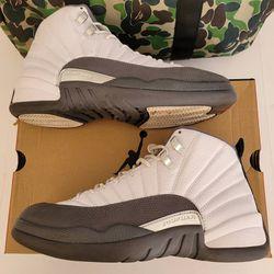 Jordan 12 Dark Grey Size 10 for Sale in Bloomington,  CA