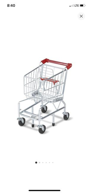 Melissa & Doug Toy Shopping Cart With Sturdy Metal Frame for Sale in Lynwood, CA