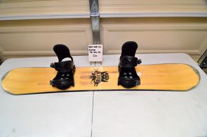 Ride Kink 152cm snowboard with M/L Burton The Ray bindings for Sale in Rancho Palos Verdes, CA